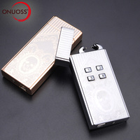 ONUOSS Windproof Electronic Lighter Charging Password Control Arc USB Charging Electric Plasma Pulse For Smoke Pipe