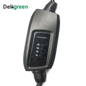 Image 2 - Duosida 16A EVSE J1772 type 1 level 1 EV charger Electric car charger Portable Charging cable schucko connector
