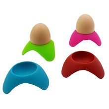Egg-Cup-Holder Soft-Boiled-Eggs Hard Silicone Kitstorm Serving-Cups Perfect for And