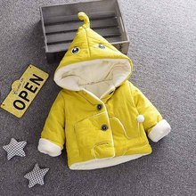 bianhuakai Baby Boy Outerwear Cartoon Coat Hooded Winter