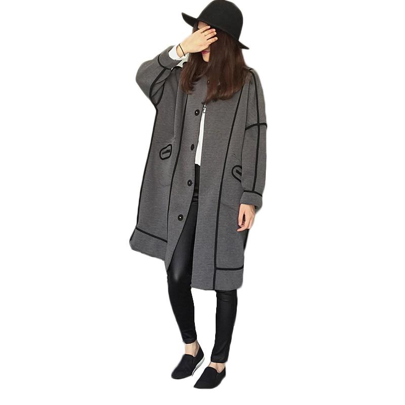 5XL Large Size Women's Overcoat Spring Fashion Long   Trench   Coats Female Casual Women's Overwear Loose Women's Windbreaker Coat