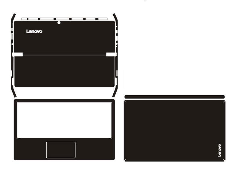 Special Laptop Carbon Fiber Vinyl Skin Stickers Cover For 2016 Release Lenovo Miix 510 510-12ISK 510-12IKB 12.2