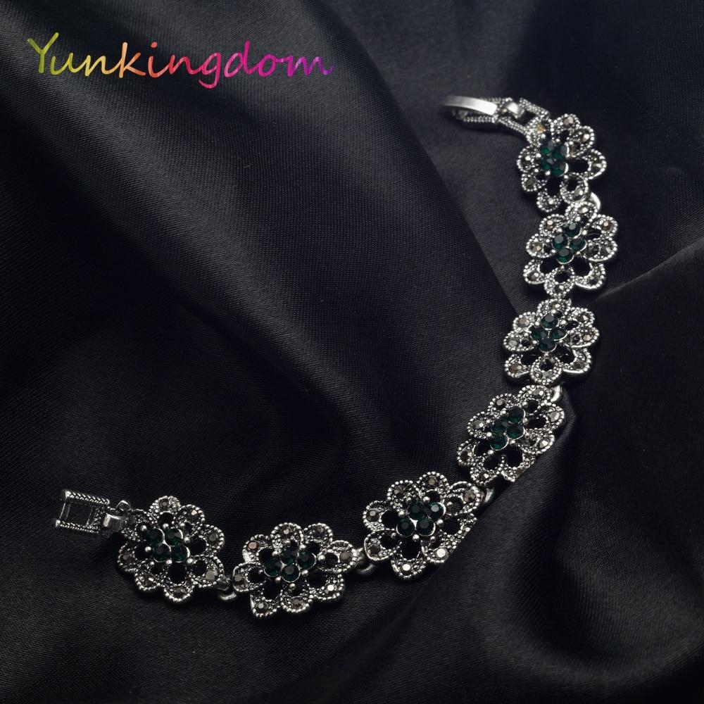Vintage Fashion Bangle Armbanden Gouden Kleur Armband Dames - Mode-sieraden - Foto 5
