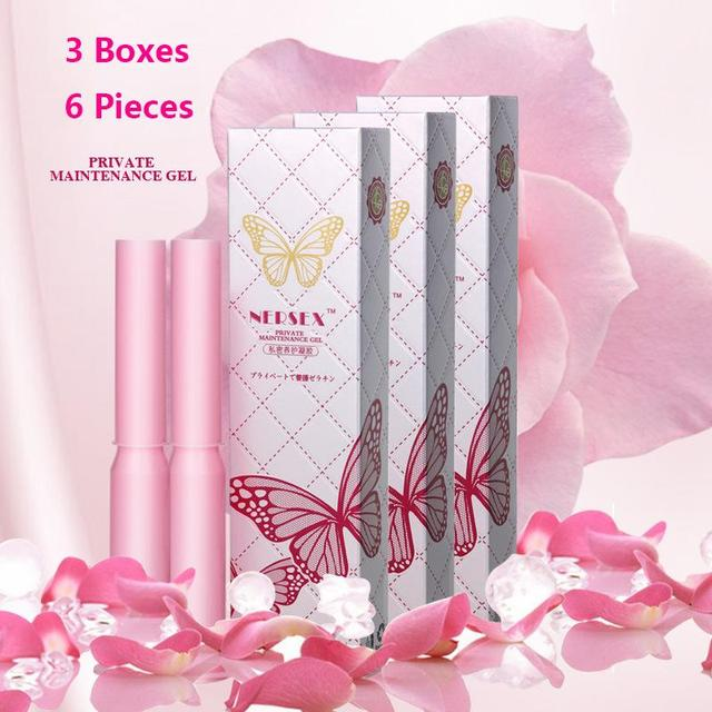 Free shipping 6 pieces vaginal contraction vagina tightening gel vaginal contraction vaginal suppositories vaginal products