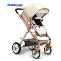 Stroller high landscape can sit or lie two-way shock absorbers winter bb baby car deck trolley  free delivery