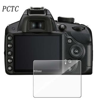 PCTC Anti fingerprint and scratch resistant steel glass protection film D3100 D3200 D3300 2.5D(3packs)