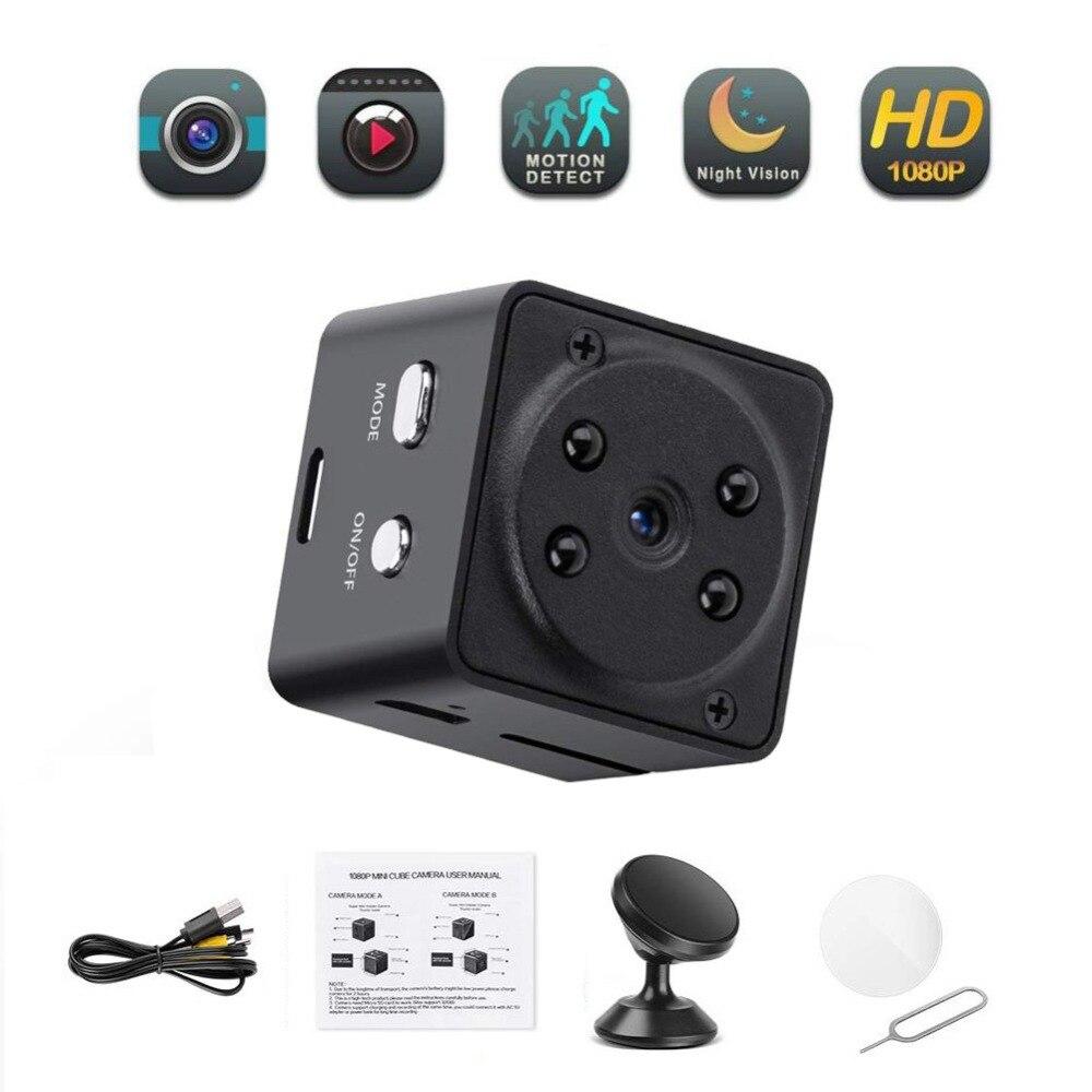A7 1080P HD Mini Camera High Definition Motion Detection Video Recorder Small Camera Night Vision Camera Sports DV Camera