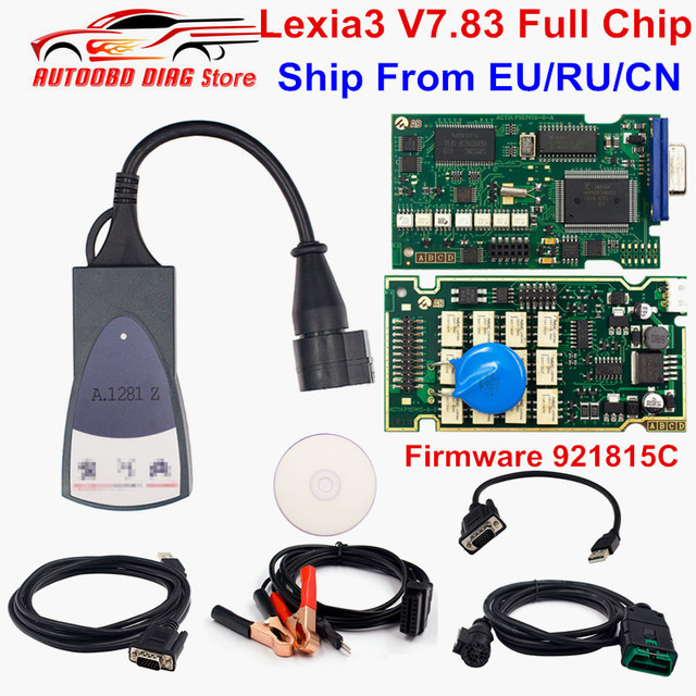 Best Quality Lexia3 PP2000 Full Chip Lexia 3 Firmware 921815C Diagbox V7.83 Lexia-3 For Peugeot For Citroen Diagnostic Tool