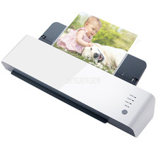 220V 400W A3/A4/A5 Size Photo Paper Hot/Cold Laminator Coating Quick Warm-up Fast Speed Film Laminating Machine Model L418