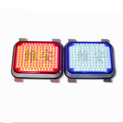 New products Red or blue traffic LED module outdoor solar flashing light