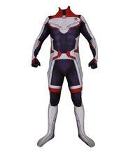 Avengers Endgame Quantum Realm Cosplay Costume Superhero Captain America Captain Marvel Zentai Bodysuit Suit Jumpsuits