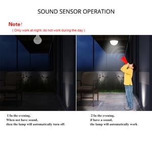 Image 5 - PIR Bewegungssensor glühbirnen E27 220 V Schallsensor led lampe 3 Watt 5 Watt 7 Watt 9 Watt 12 Watt Für Treppen Flur Balkon Nacht Notfall birne