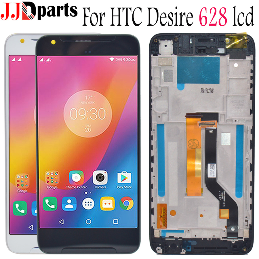 100% Tested For HTC 628 Display Touch Screen Digitizer Assembly 5.0 For Htc 628 lcd Phone with Frame For HTC Desire 628 Screen100% Tested For HTC 628 Display Touch Screen Digitizer Assembly 5.0 For Htc 628 lcd Phone with Frame For HTC Desire 628 Screen