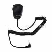 For Yaesu MH-34B4B Speaker Microphone Swivel Clip & 3.5 mm Earpiece Audio Jack Shoulder PTT Mic Speaker VX-3R FT-60R FT1DR FT2DR