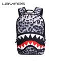 Shark Mouse Student School Bag Cartoon Bookbag Leopard Boy Backpack Girl Children Shark Backpack Cute Backpacks Boy's Travel Bag