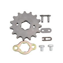 GOOFIT Front Sprockets 428 10-19 Tooth 20mm ID for 50cc 70cc 90cc 110cc Scooter Motorcycle Bike ATV Quad Go Kart Moped Q001-049