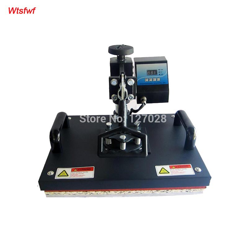 Wtsfwf 30*38CM Swaying Away Heat Press Printer Shaking Head Heat <font><b>Transfer</b></font> Printer For Cases Tshirts Mouse Mat