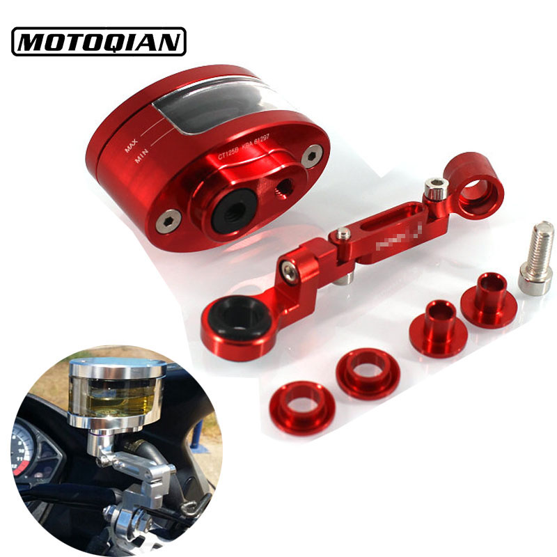 For Honda CBR600 F2 F3 F4 F4I CBR600RR Accessories Motorcycle CNC Rear Brake Fluid Oil Reservoir Tank Cup Cover Brake Bracket аксессуар катушка marsmd sniper для f2 f4
