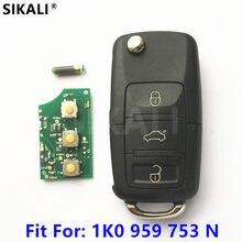 Chave remota automotiva, controle remoto para z para skoda octavia/superb/yeti 2008 2009 2010 2011 2012