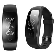 Новый Smart Браслет ID107 плюс Смарт сердечного ритма Смарт-браслет шагомер Фитнес трекер вызов SMS Mp3 PK Mi band 2 fitbit