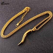 fd35415e21b7 Simple pimienta de Chile Collar para hombres mujeres regalo nuevo diseño  único de acero inoxidable vegetal venta al por mayor de.