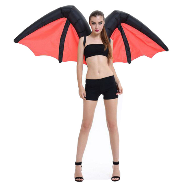New Halloween Batman Wings Inflatable Costume For Adult Womenu0026Men Carnival/Party/Stage/Eduction  sc 1 st  AliExpress.com & New Halloween Batman Wings Inflatable Costume For Adult Womenu0026Men ...