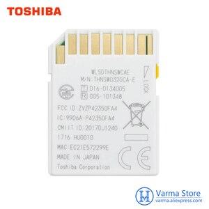 Image 2 - Toshiba wifi sd cartão de memória de alta velocidade slr câmera suporta 4 k sem fio wi fi cartão 32 gb