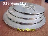 Hohe qualität! Reine nichel 99.96% Batterie reinem nickel streifen zelle stecker batterie reinem nickel platte 0 15*6mm 1 0 kg|battery nickel strip|plate nickelplate battery -