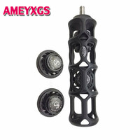 1Pc 8oz Archery Stabilizer Compound Bow Riser Damper 6 CNC Aluminum Silencer Vibration For Outdoor Hunting Shooting Accessories