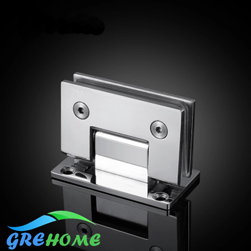 High Quality 90 Degrees open Stainless Steel glass door hinges Wall Mount Glass Shower Door Hinge brushed and mirrored high quality rivet mirrored square oversized sunglasses