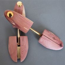 1 Pair 100% Natrual Beech Men Wooden Shoe Tree Stretcher Shaper Keeper Adjustable Width Wooden Shoe Tree Stretcher Shaper
