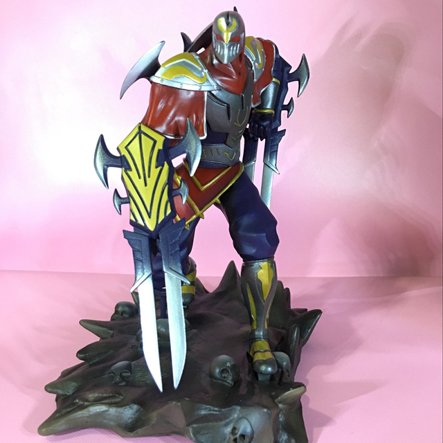 LOL League of Legends figure Action Game ZED Character Model Toy action 3D Game Heros anime party Gift 3