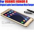 Para huawei honor 8 case original luphie luxo espada moldura de alumínio do metal capa case para honor8 h81