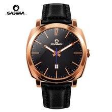 CASIMA montre en or Rose hommes marque de luxe étanche lumineux affaires calendrier Quartz montre bracelet horloge Saat Relogio Masculino