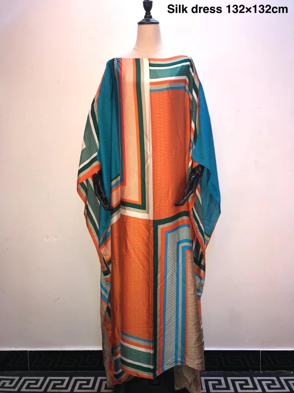 2019 Multi color Mulish  Kaftan Women dresses popular Super size African women' s Dresses African dresses for women