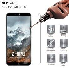 10 Pcs/Lot Tempered Glass For UMIDIGI A3 Screen Protector 2.5D 9H Premium Protective Film