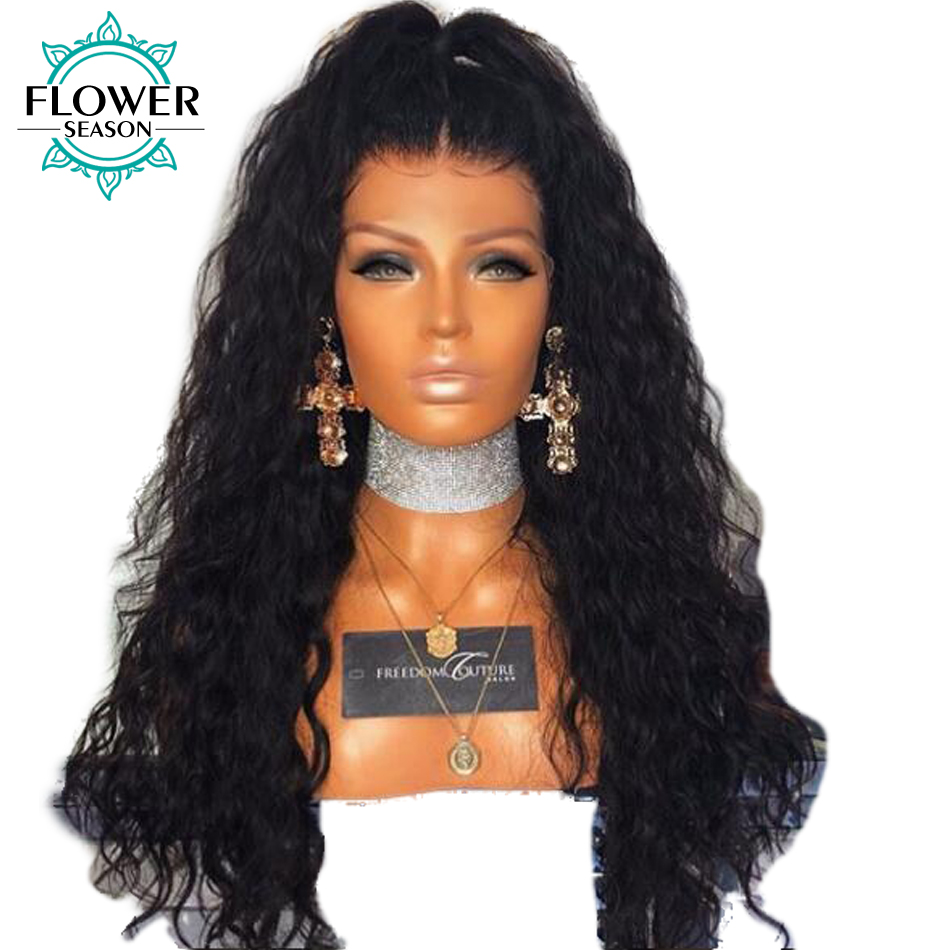 xcsunny 13X6 Water Wave Malaysian Remy Human Hair Lace Front Wigs For Women Pre Plucked  ...