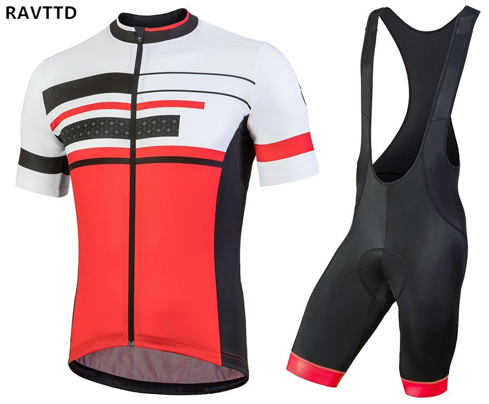 2018 Bike Team Cycling Sets Maillot Ropa Ciclismo Bicycle Jersey Summer Bike Cycling Clothing Outdoor Jersey Men title=
