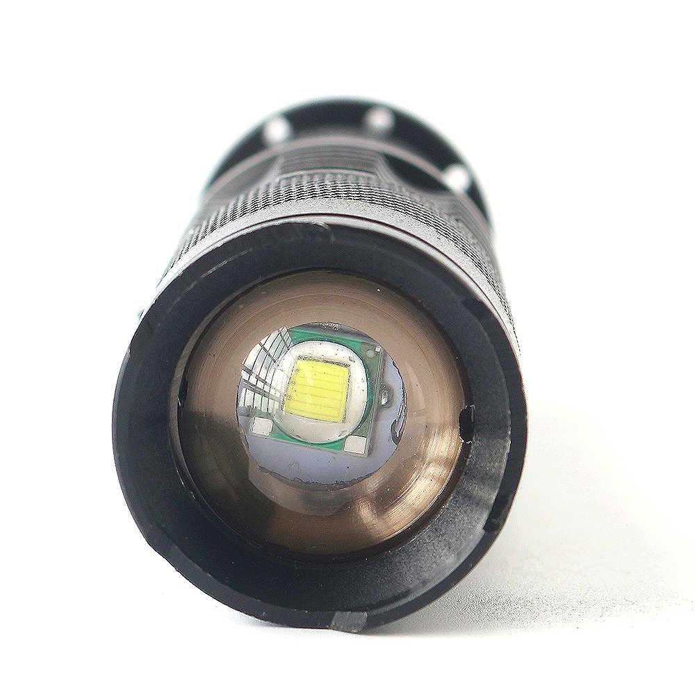 Z10 Litwod Đèn Pin Mini 2000 Lumen Đèn Pin Chống Nước Led 3 Chế Độ Phóng To Đèn Pin Di Động Sáng Cree Q5 Đèn Pin