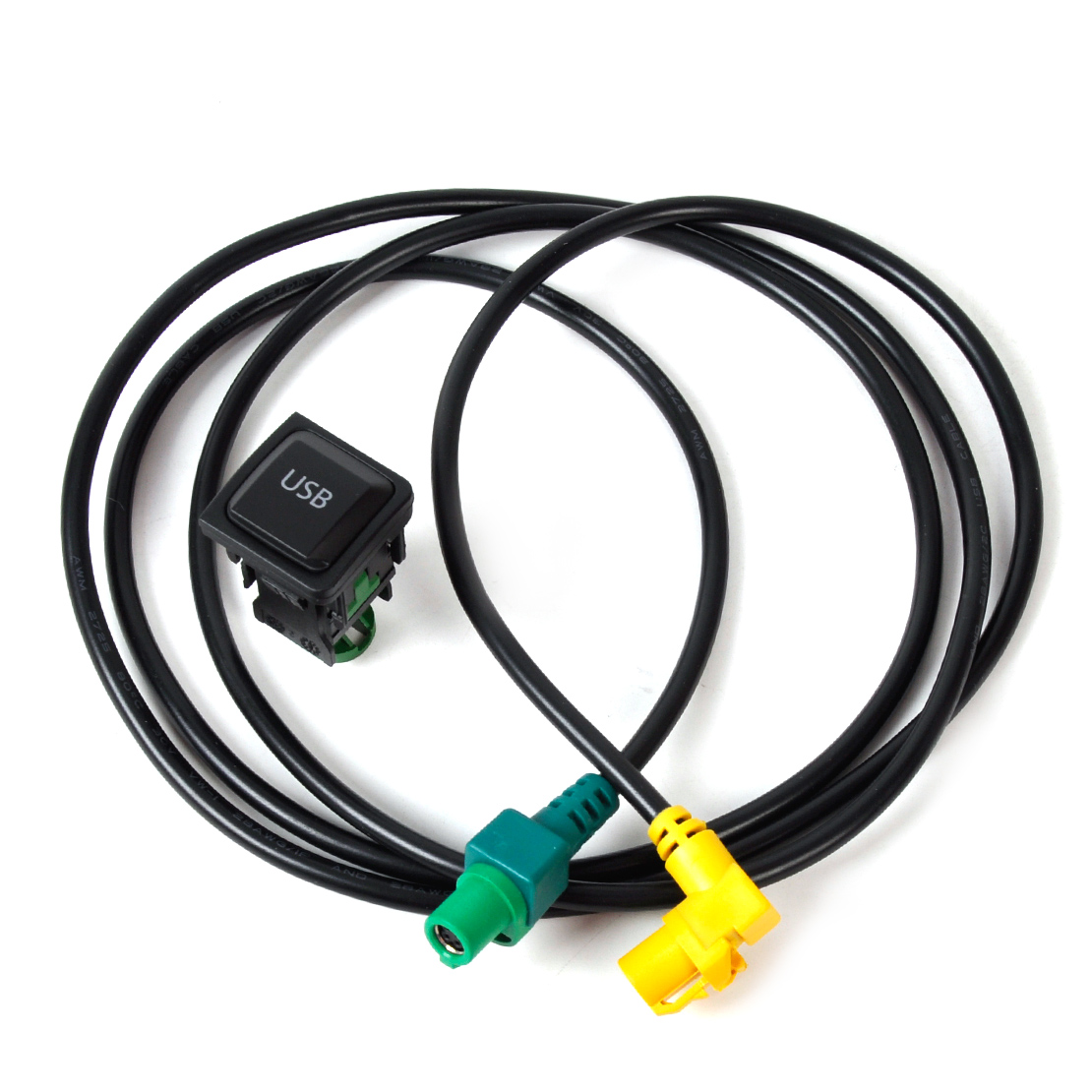 Beler <font><b>USB</b></font> Switch Kabel für <font><b>VW</b></font> Golf Jetta SCIROCCO Polo Touran EOS Tiguan CC Käfer 2005 2006 2007 2008-2013 <font><b>RCD510</b></font> RNS315 RCD300 image