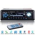 2017 Новый 12 В Стерео Fm-радио MP3 Аудио Плеер Поддержка Bluetooth Телефон с USB/SD/MMC, Порт Электроники Автомобиля В-Черточки 1 DIN
