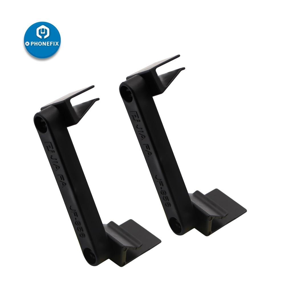 PHONEFIX 2Pcs Plastic Universal Mobile Phone Repair Holder LCD Screen Fastening Fixture Clamp Clip For IPhone IPad Repair Tool