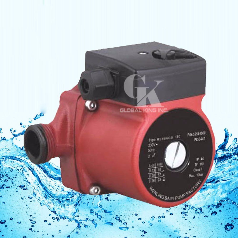 220-240V Circulator Pump G 1'',3-Speed Hot Water Circulating Pump(RS15-6G) g 1 1 2 hot water circulation pump 220v circulator circulating pump for floor heating system