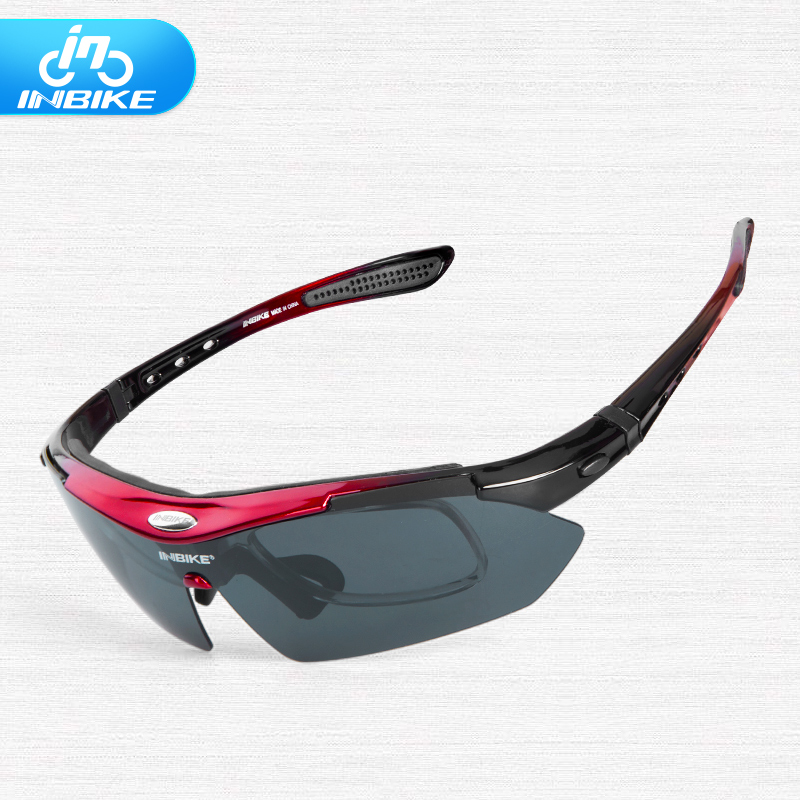 Prix pour Inbike Vélo Lunettes Vélo Lunettes de Soleil Hommes Vélo Lunettes Lunettes lunettes de Soleil Sport lunettes de Soleil matériel d'équitation avec myopie cadre