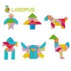 Lagopus educación temprana cubo rompecabezas juguetes Varieti B & lock desarrollo lógica Thicking juguetes de madera regalo para niños - 3