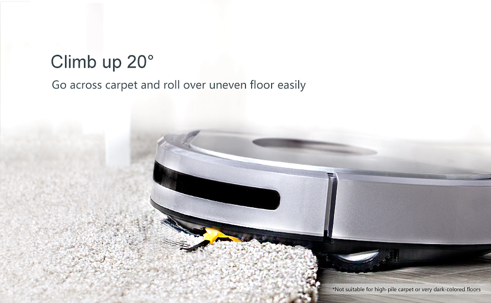 Fmart YZ-U1S Robot Vacuum Cleaner UV Dust Sterilize with 1000Pa Suction Automatic Sweeping Selfcharge Remote Control PYLOSOS (6)