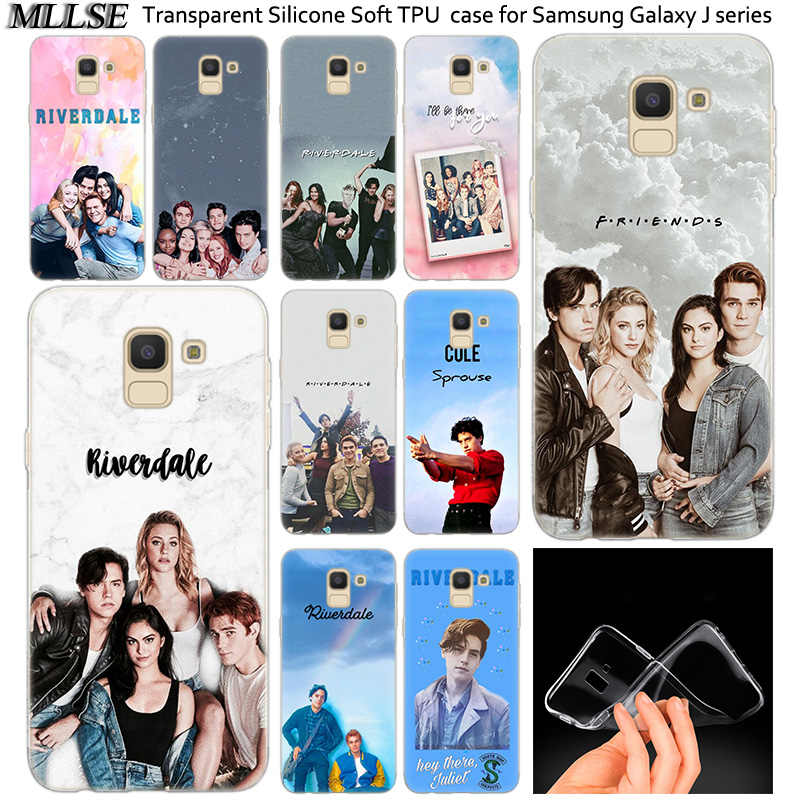 Hot Riverdale South Side Serpents Soft Silicone Case For Samsung Galaxy J2Pro J4 J6 J8 2018 J3 J5 J7 2016 2017EU Prime CORE Plus