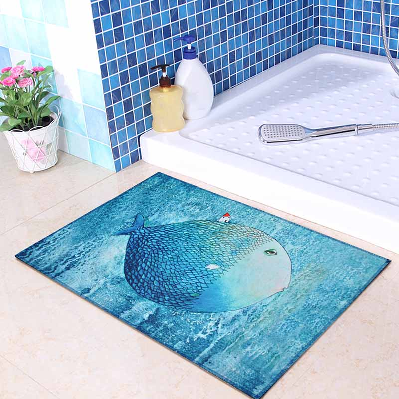 Washable Kitchen Mats with Anti Slip Bottom for Kitchen and Hallway Entrance Floor 27