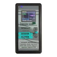 רב תכליתי טרנזיסטור Tester 128*160 דיודה תיריסטורים קיבול הנגד השראות MOSFET ESR LCR מד