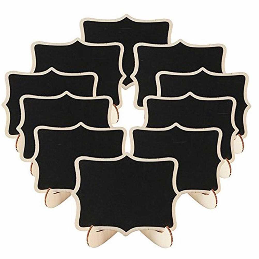 22 шт. мини форма Кружева досок с поддержкой доски сообщений знаки банкетные карточки для рассадки знаки для дома День рождения Свадебная вечеринка